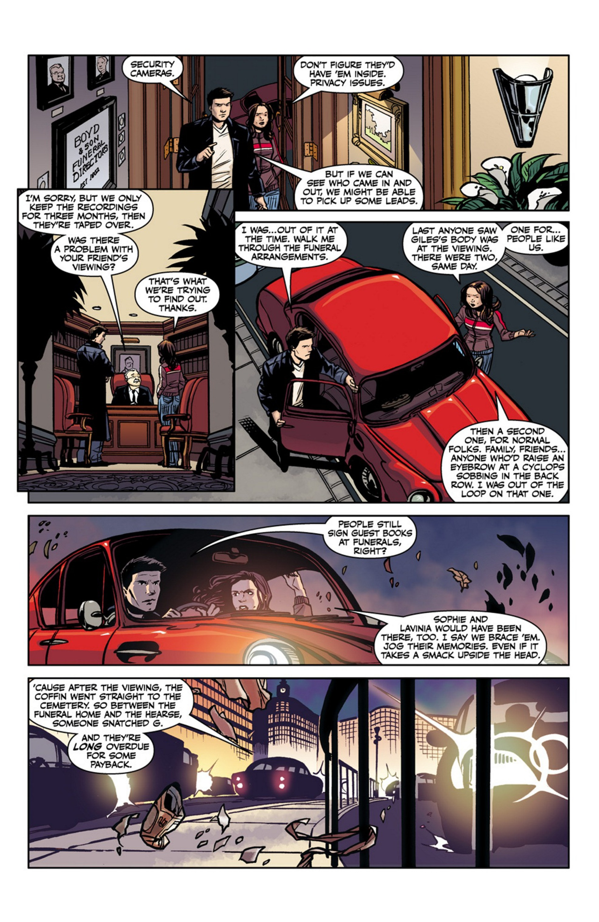 Read online Angel and Faith comic -  Issue #17 - 12