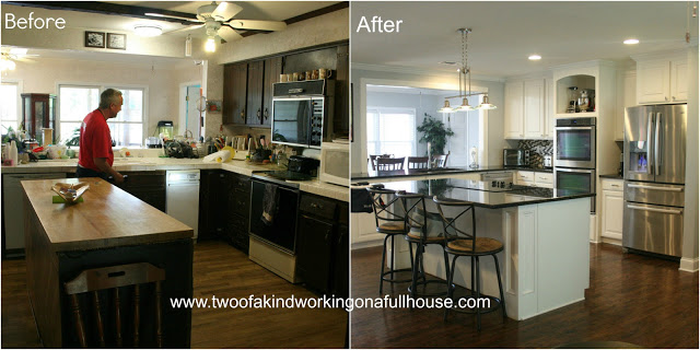 alejandra creatini amazing before and after kitchens. Black Bedroom Furniture Sets. Home Design Ideas