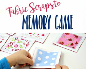 Fabric Memory Game Free Tutorial