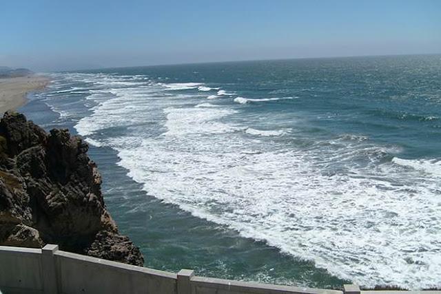 Pic of Sea near beach