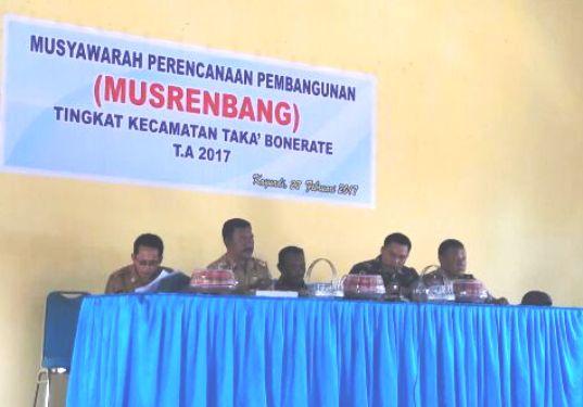 Musrenbang, Kecamatan Takabonerate, Berlangsung, Di, Kayuadi