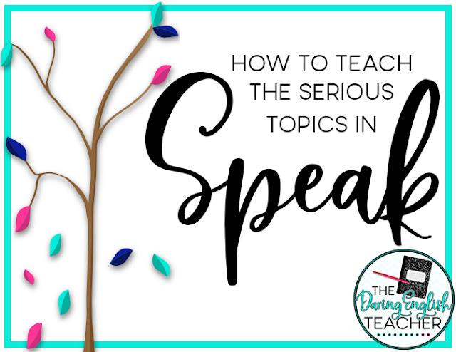 How to Teach the Serious Topics in Speak