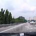 (Video) Warga Emas Hampir Maut, Van Terbalik dan Terseret Hampir 10 Meter