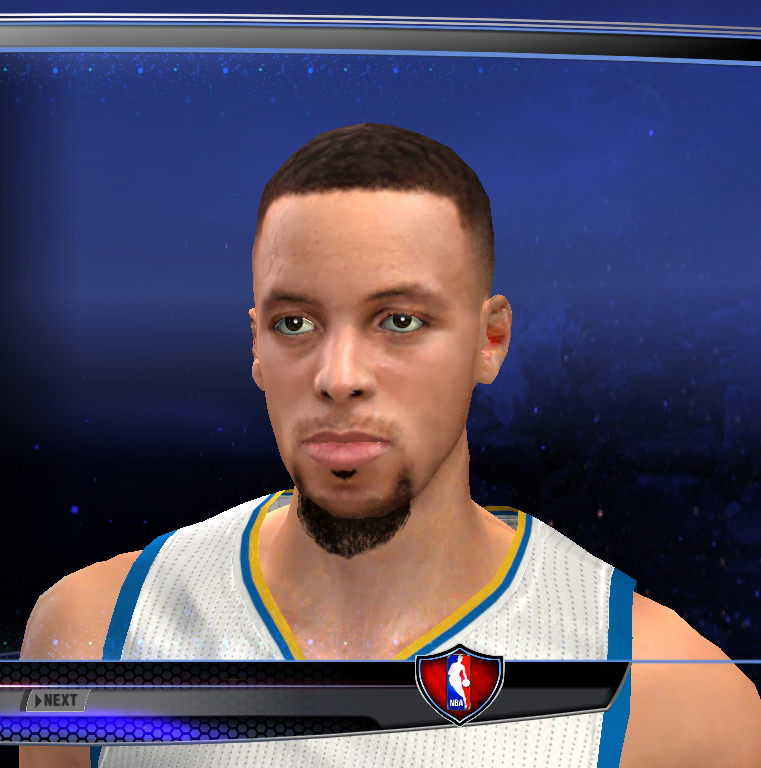 """Stephen Curry Cyberface """"Best"""" Realistic For 2k14 - NBA 2K Updates, Roster Update, Cyberface, Etc"""