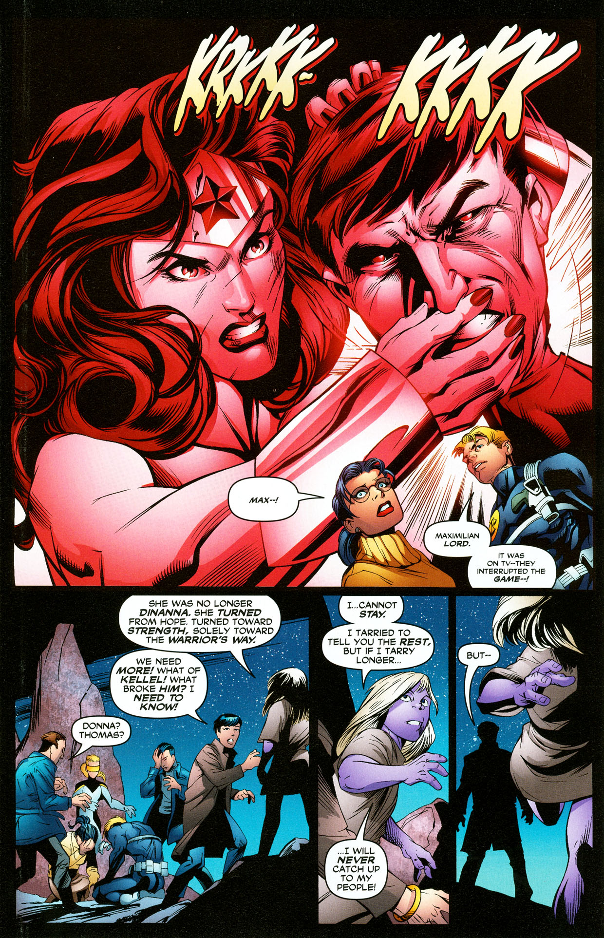 Read online Trinity (2008) comic -  Issue #33 - 12