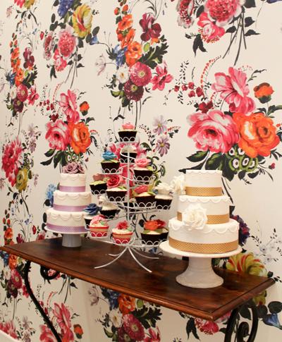 Objetivo cupcake perfecto y finalmente puedo decir que - Designers guild papel pintado ...