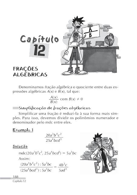 Frações algébricas exercicios