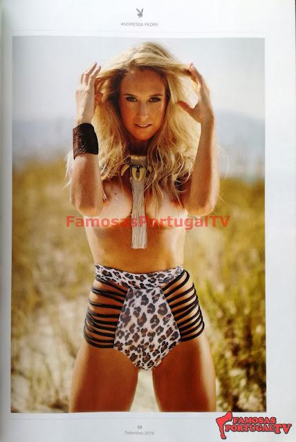 Fotos de Andressa Pedry nua pelada na Playboy Portugal