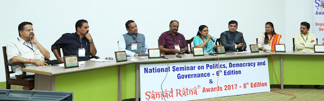 Interactive session with Sansad Ratna Awardees 201