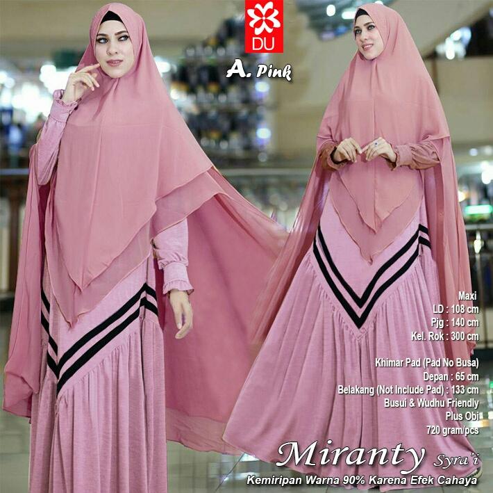 Gamis Al Insani Gamis Cantik Muslimah Gks677 Busana