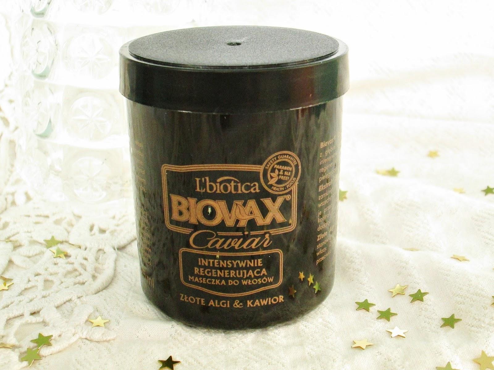 maska Biovax Caviar Kawior i Złote Algi