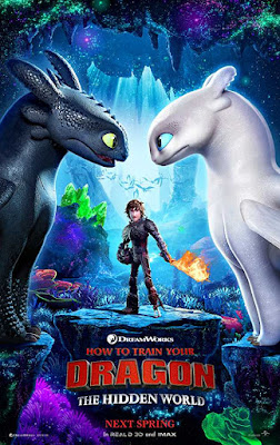 Poster How to Train Your Dragon: The Hidden World 2019 Dual Audio HD 720p