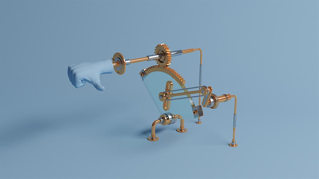 Endless - Buscar y no encontrar sin fin - Una pieza de animación 3D de molistudio
