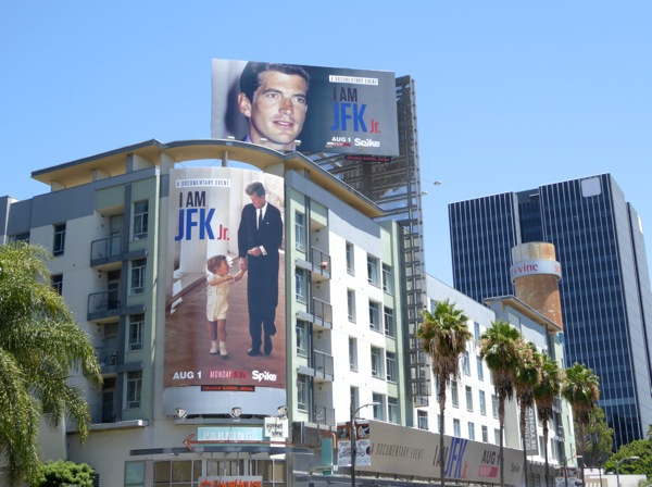 I am JFK Jr billboards