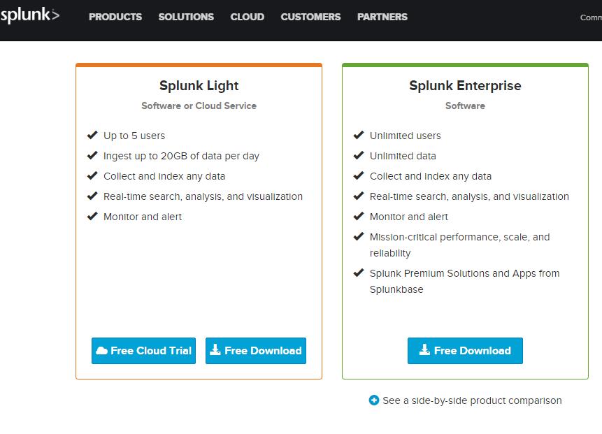 SIEM Beast: How to download SPLUNK ENTERPRISE [Free Edition]