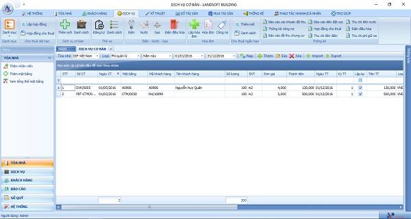 Phần mềm quản lý tòa nhà tối ưu các khâu vận hành Công ty TSQ Việt Nam