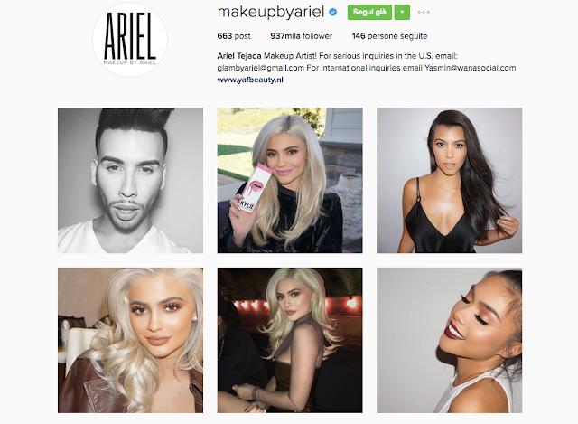 Cherry Diamond Lips Make Up By Ariel Tejada Instagram account