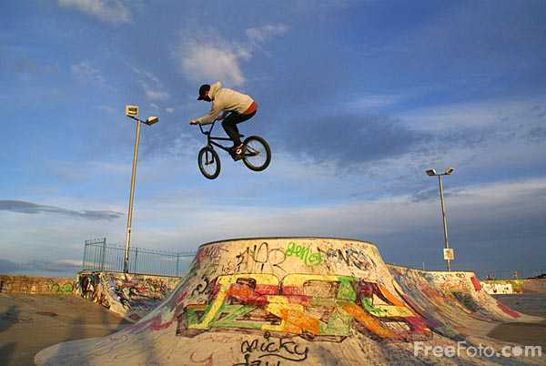 Image: Skateboard Park, South Shields (c) FreeFoto.com. Photographer: Ian Britton