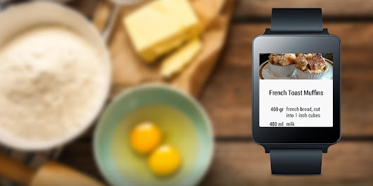 Allthecooks on Android Wear