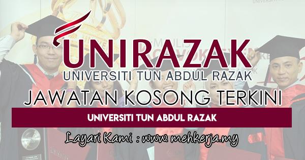 Jawatan Kosong Terkini 2018 di Universiti Tun Abdul Razak