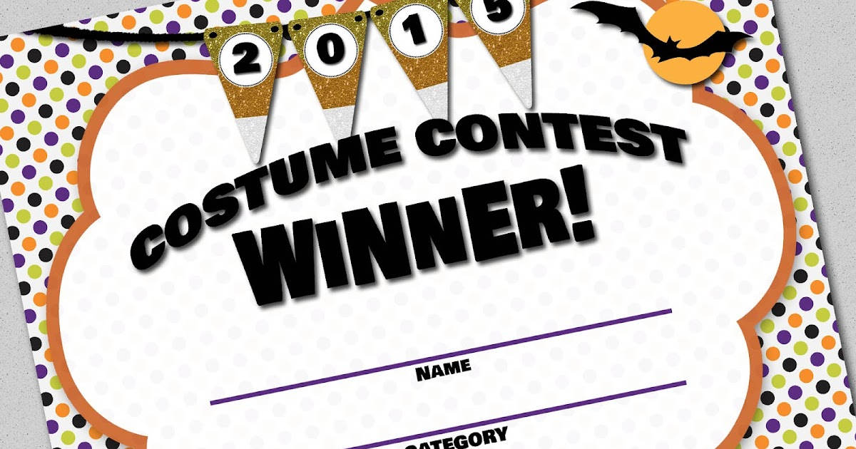my fashionable designs free printable costume contest