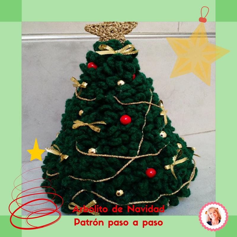 Navidad Crochet el arbolito Tejiendo lindo Graciela Gaudi