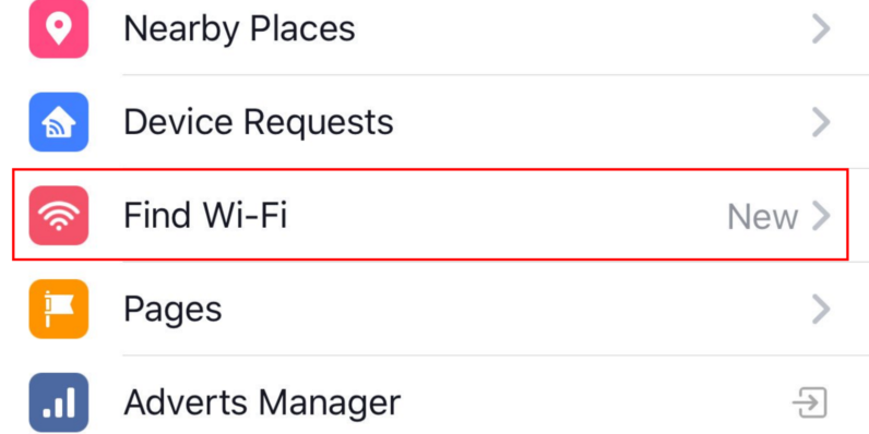 Facebook Now Searches for Free Wi-Fi | Left Click Right Click