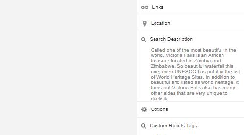 Search Description