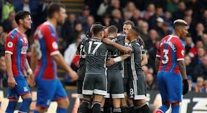 ليستر سيتي يواصل الانتصارات بفوز جديد على فريق كريستال بالاس بهدفين بدون رد في الدوري الانجليزي