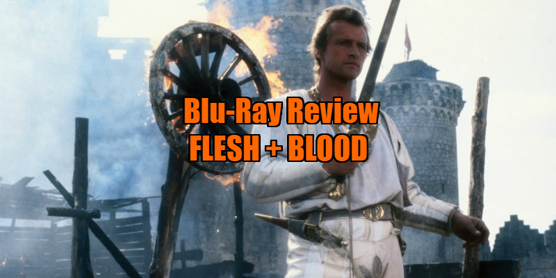 FLESH + BLOOD (1985) review