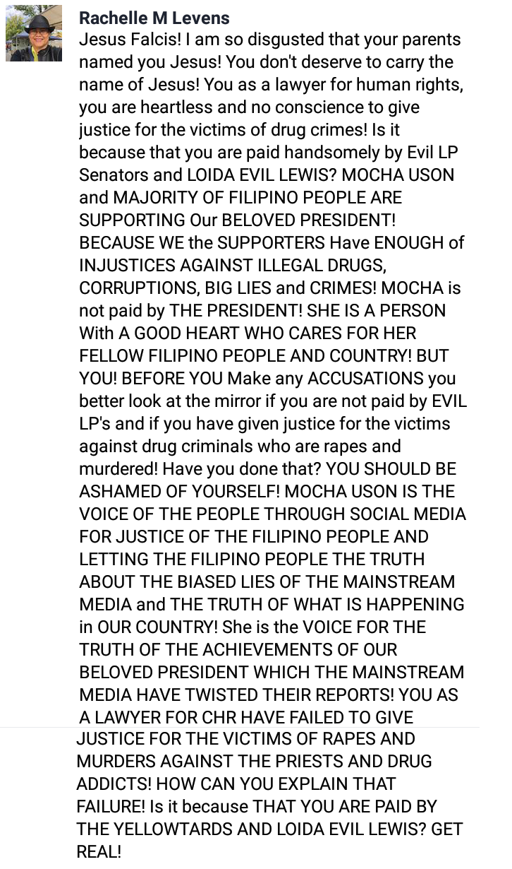 Open letter to lawyer bashing Mocha: You failed in your duty to give justice, she is the voice of the people