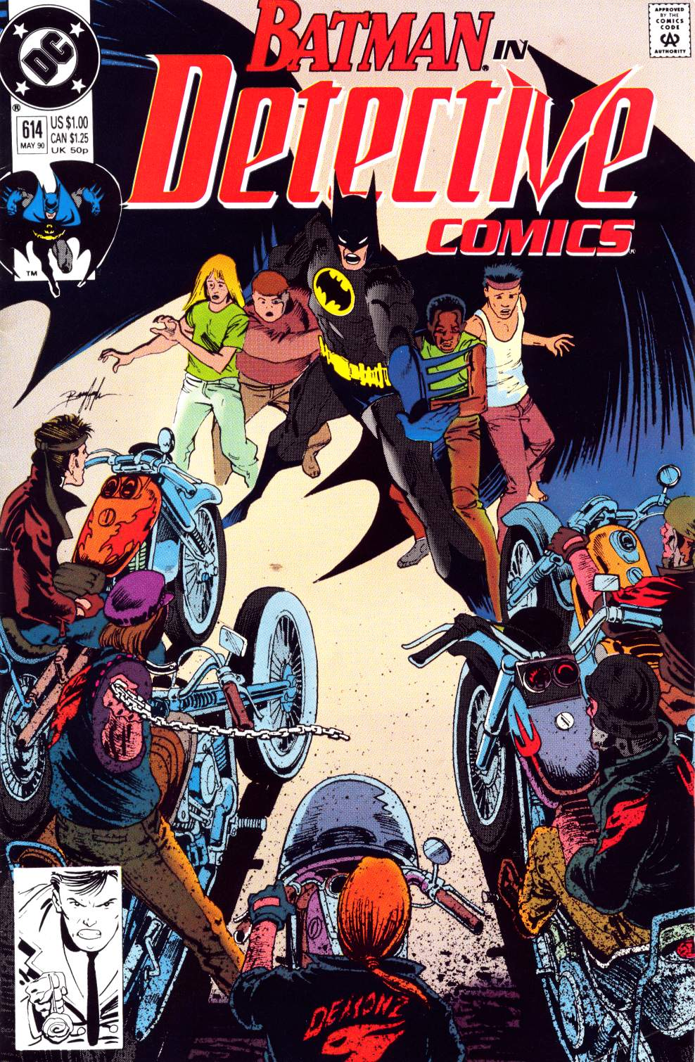 Detective Comics (1937) 614 Page 0