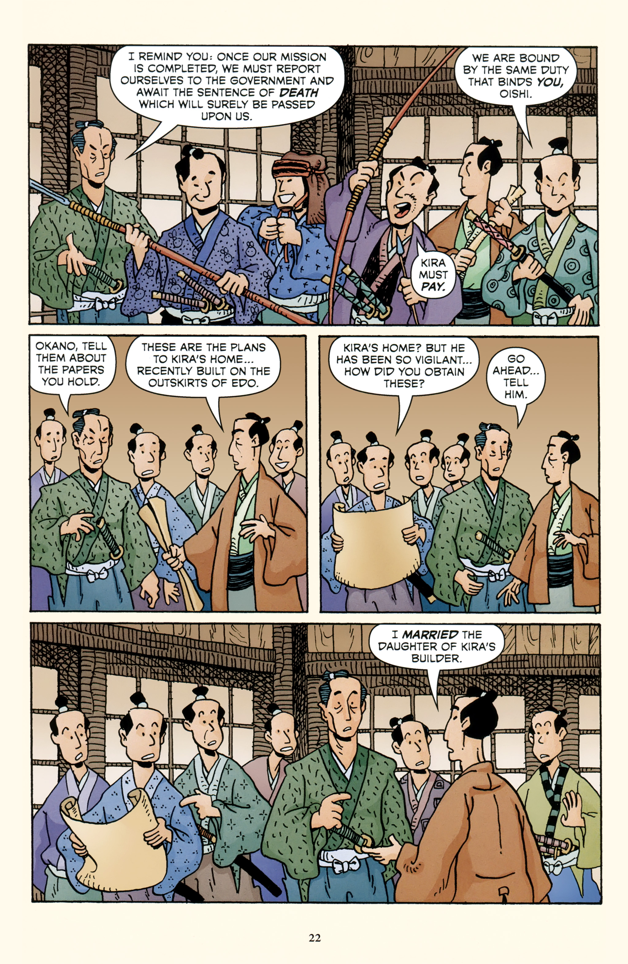 Read online 47 Ronin comic -  Issue #4 - 24