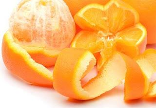 Ne jetez jamais les écorces d'orange !