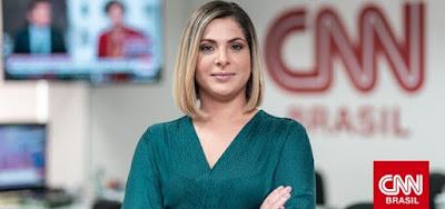 Daniela Lima foi anunciada nesta terça-feira (3) como novo reforço da CNN Brasil; jornalista deixou Folha e Cultura