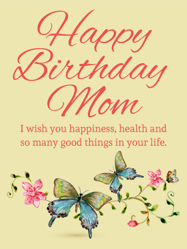 Happy Birthday Mom | Mother Wishes | Quotes | Messages and Images from Daughter