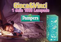 Logo Gioca & Vinci 1.000 lampade Pampers
