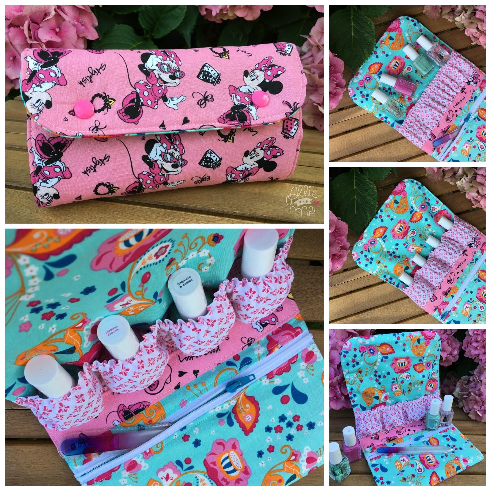 Snappy Manicure Pouch ☆ FreeBook ☆ Ich packe meinen Koffer …