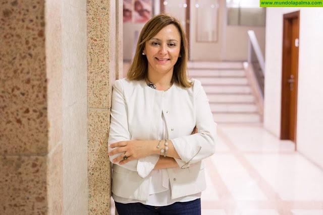 """Nieves Lady Barreto: """"La gestión que está haciendo el Cabildo de la sequía es un error"""""""