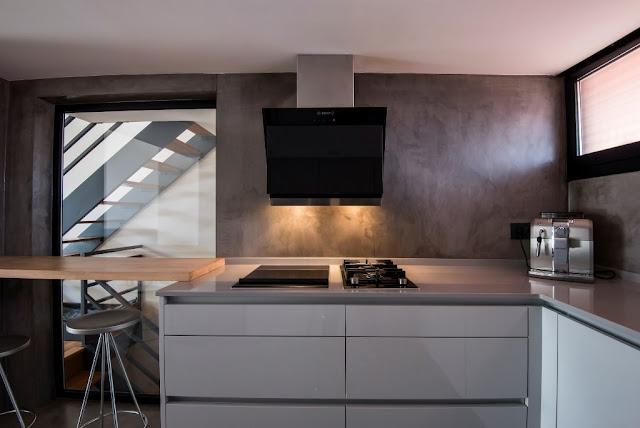 Un dise o sin muebles colgantes y c mo suplir ese espacio for Ver muebles de cocina