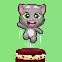 Talking Tom Cake Jump (Mod Apk Unlimited Money)