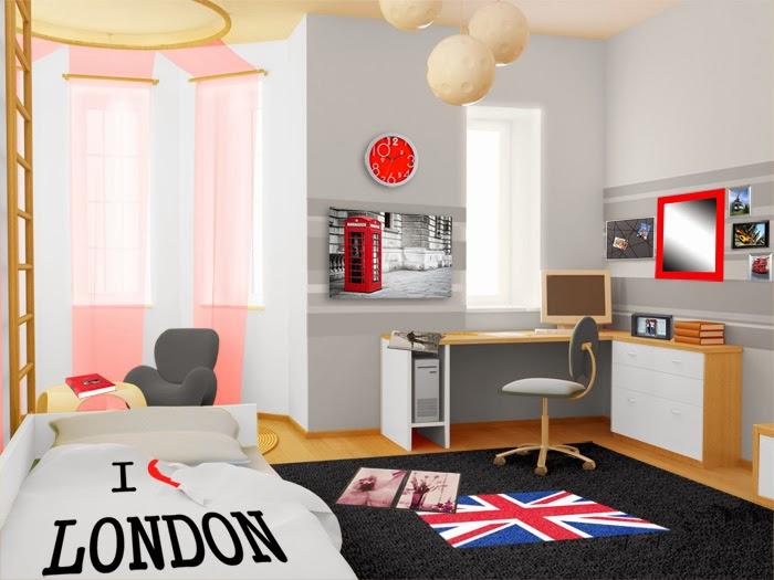 Dormitorios juveniles muy modernos dormitorios colores y - Idee deco chambre ado fille a faire soi meme 2 ...