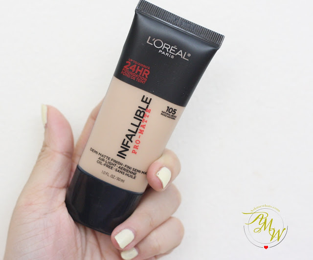 a photo of L'Oreal Infallible Pro-Matte 24HR Foundation