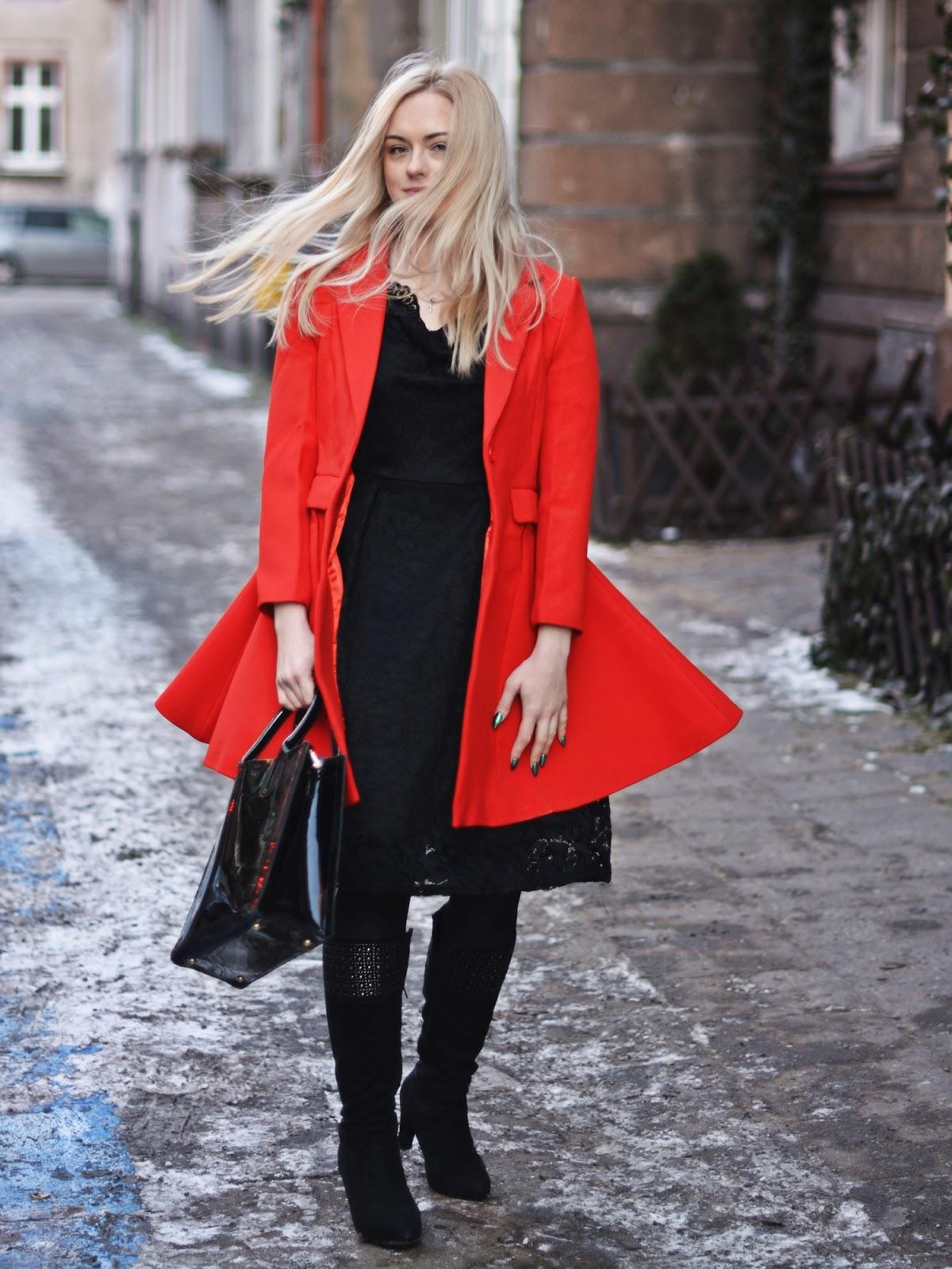 wiosenny płaszcz