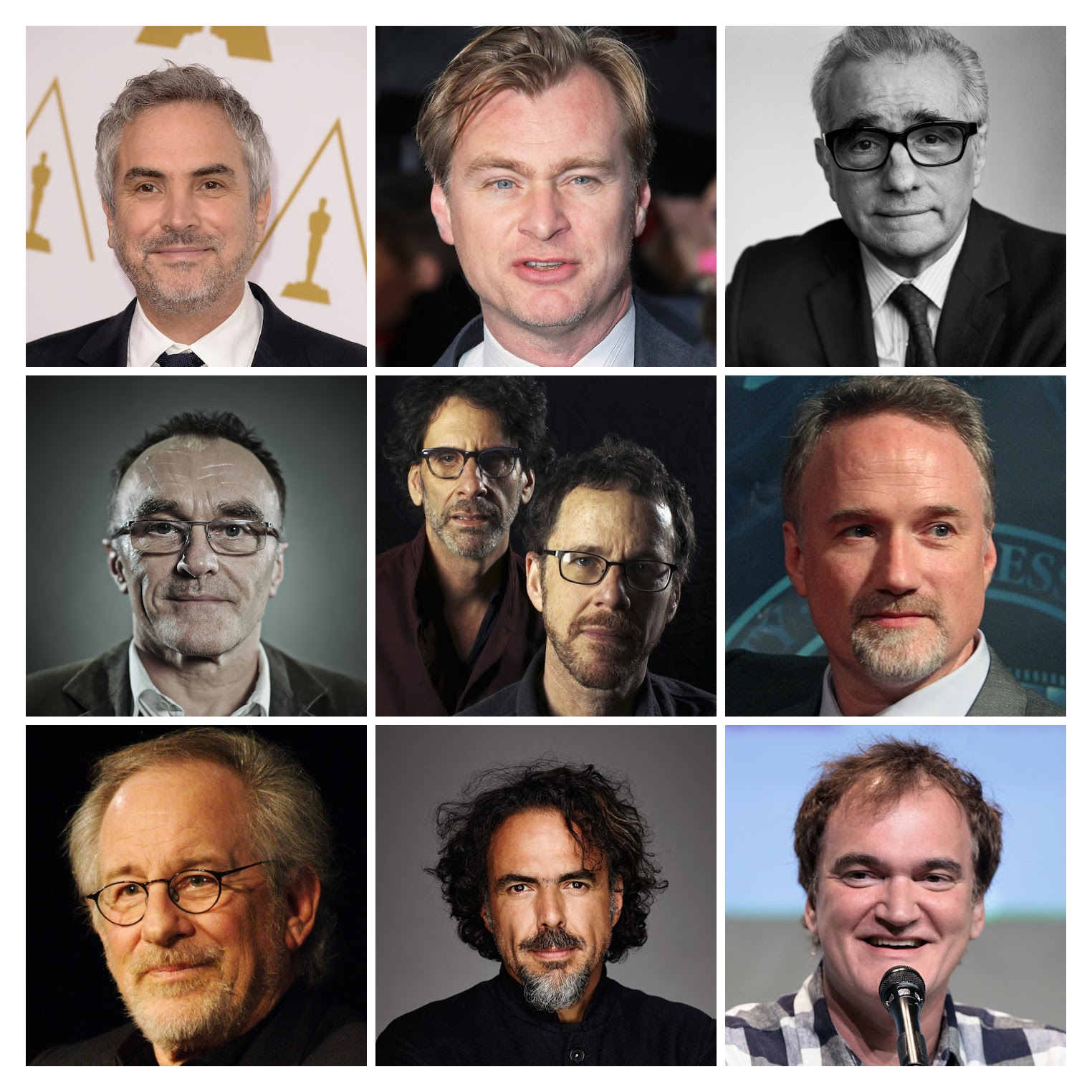 Los 100 mejores directores contemporaneos