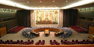 Ruangan Dewan Keamanan PBB