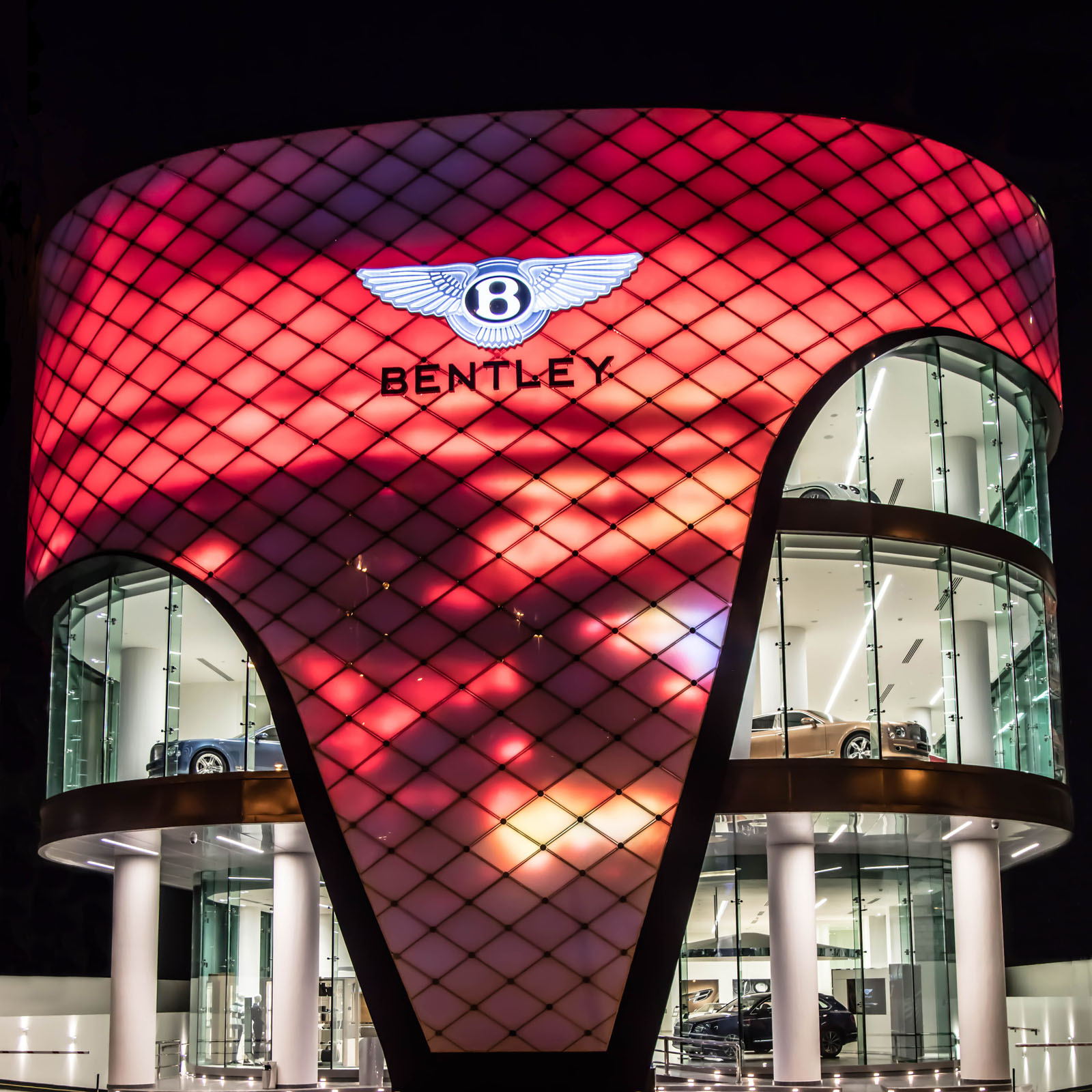 Bentley Dealerships: World's Largest Bentley Dealership Opens In... You Guessed