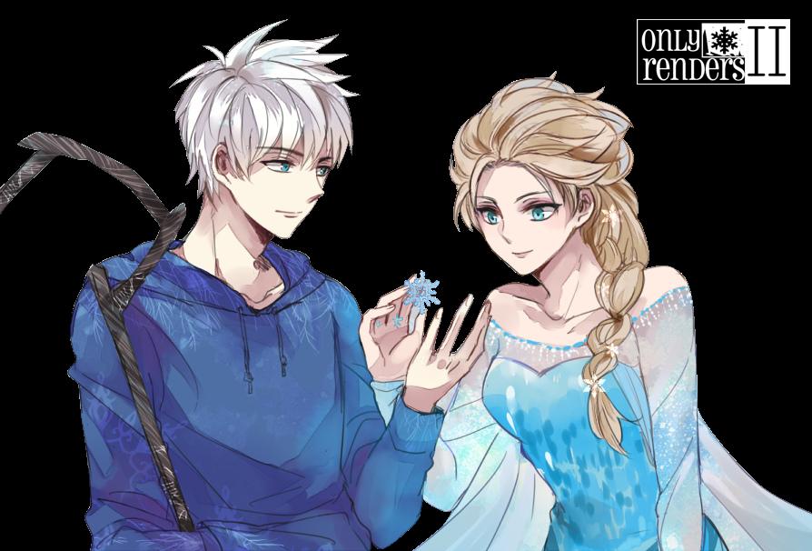 render Jack Frost/Jack Escarcha,Elsa