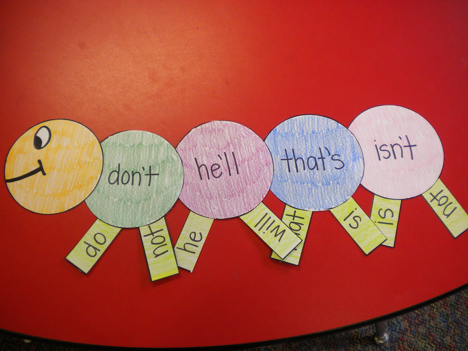 Contraction Words