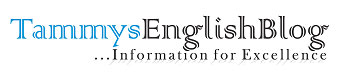 TammysEnglishBlog - English Lessons, English Tutorials, Term Papers